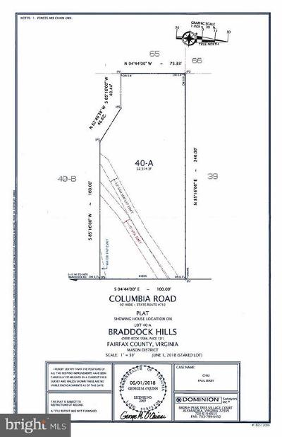 Annandale Residential Lots & Land Under Contract: 4896 Columbia Road
