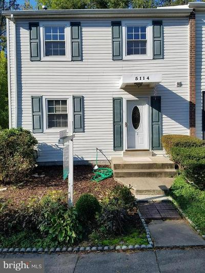 Burke Townhouse For Sale: 5114 Harford Lane