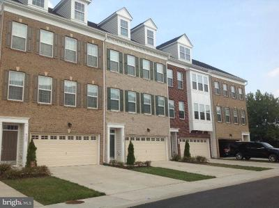 Upper Marlboro Townhouse For Sale: 4106 Winding Waters Terrace