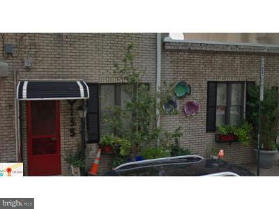 Northern Liberties Single Family Home For Sale: 135 E Allen Street #A