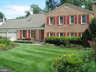 Vienna Single Family Home For Sale: 1429 Rosewood Hill Drive