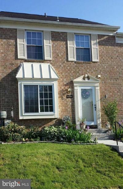 Owings Mills Townhouse For Sale: 8219 Township Drive