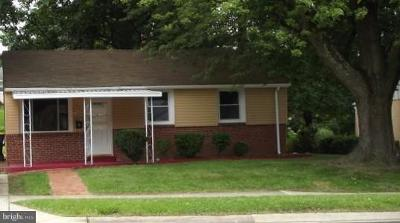 Glenarden Single Family Home For Sale: 7907 Fiske Avenue