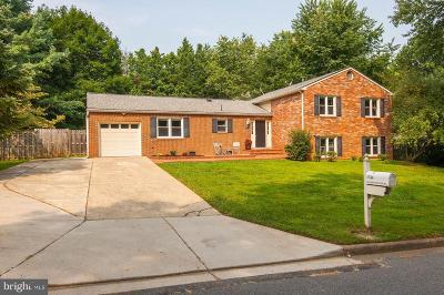 Vienna Single Family Home For Sale: 1514 Gingerwood Court