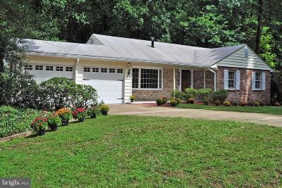 Annandale Single Family Home For Sale: 4703 Dodson Drive