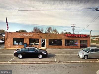 Charles County Commercial For Sale: 6960 Indian Head Highway