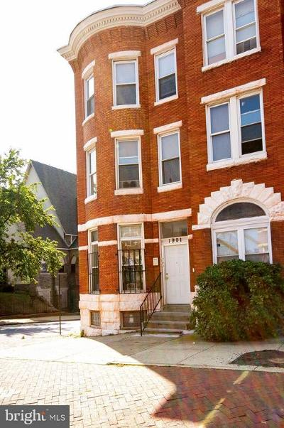 Multi Family Home For Sale: 1901 Baltimore Street