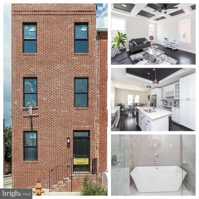 Federal Hill, Federal Hill - Riverside, Federal Hill South Townhouse For Sale: 116 Hamburg Street W