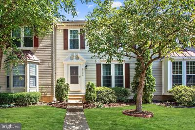 Ashburn Townhouse Active Under Contract: 21068 Cornerpost Square