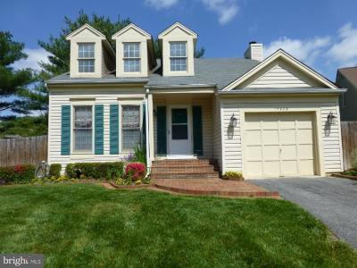 Gaithersburg Single Family Home For Sale: 11409 Saddleview Place