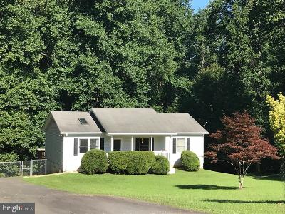 Culpeper County Single Family Home For Sale: 12521 Hazel River Road