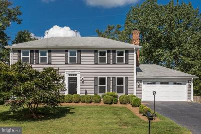 Centreville Single Family Home Under Contract: 6509 White Post Road