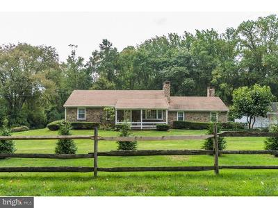 West Chester Single Family Home For Sale: 1640 E Strasburg Road