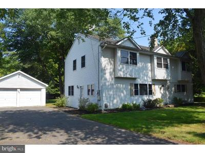 Princeton Junction Single Family Home For Sale: 1742 Old Trenton Road
