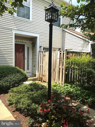 Montgomery County Townhouse Active Under Contract: 3046 O Hara Place