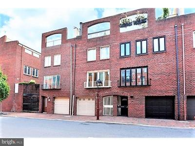 Society Hill Townhouse Under Contract: 102 Lombard Street