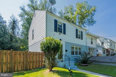 Hyattsville Single Family Home For Sale: 6729 Knollbrook Drive