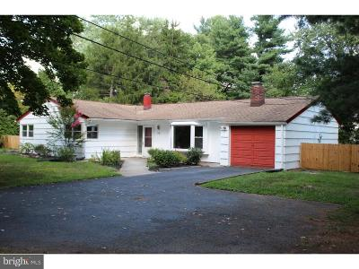 Princeton Junction Single Family Home For Sale: 48 Penn Lyle Road
