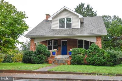 Culpeper Single Family Home For Sale: 823 Piedmont Street