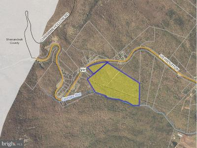 Page County Residential Lots & Land For Sale: Hwy 211 West