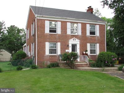 Ewing Single Family Home For Sale: 2 Stratford Avenue