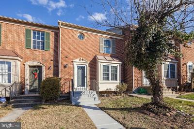 Laurel Townhouse For Sale: 15009 Courtland Place