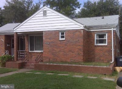 Hyattsville Rental For Rent: 6608 24th Avenue