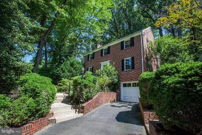 Silver Spring Single Family Home Active Under Contract: 9149 Sligo Creek Parkway