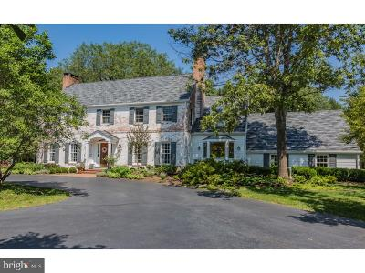 Princeton NJ Single Family Home For Sale: $2,050,000