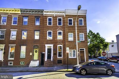 Baltimore Townhouse For Sale: 21 Fort Avenue
