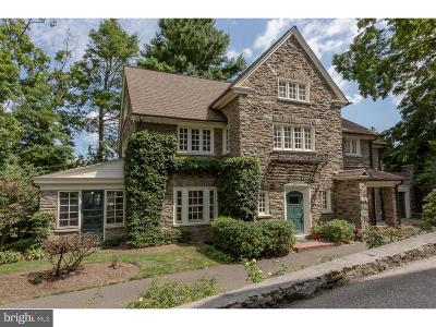 Chestnut Hill Single Family Home For Sale: 20 E Bells Mill Road