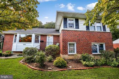 Rosedale, Towson Single Family Home Under Contract: 800 Shelley Road