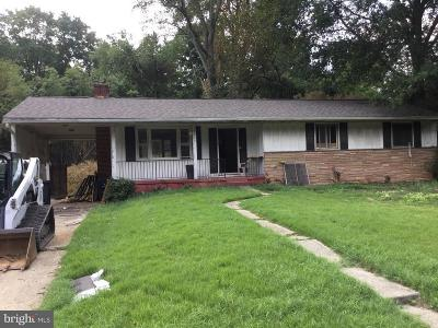 Lanham Single Family Home Under Contract: 8905 Spring Avenue