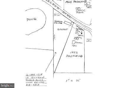 Bucks County Residential Lots & Land For Sale: Parkland Road