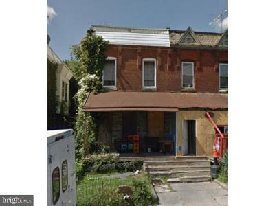 Overbrook Single Family Home For Sale: 1646 N 55th Street