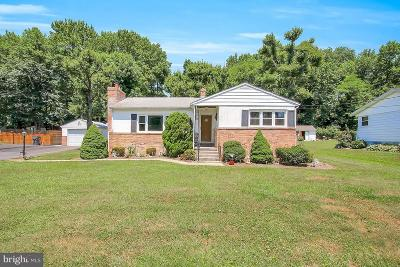 Abingdon MD Single Family Home For Sale: $190,000