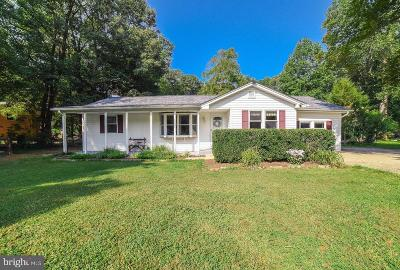 Brandywine Single Family Home Active Under Contract: 14305 Duckett Road