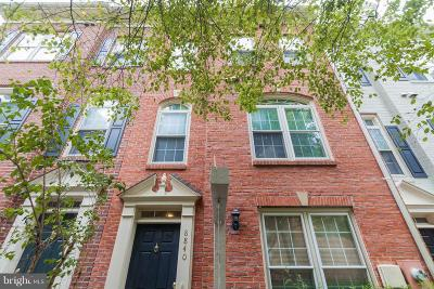 Vienna Townhouse For Sale: 8840 Mansion View Court