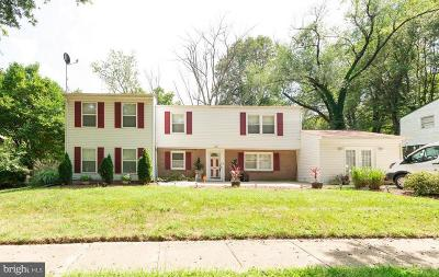 Upper Marlboro Single Family Home For Sale: 3504 Halloway N