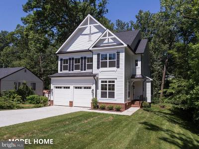 Falls Church Single Family Home For Sale: Patterson