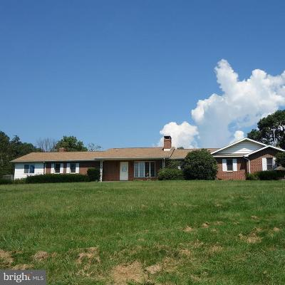 Hedgesville Single Family Home For Sale: 1226 Conner Bowers Road