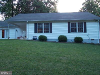 Rappahannock County Single Family Home For Sale: 129 Forest Dr