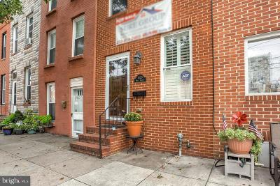Locus Point, Locust Point, Locust Point/Silo Point Townhouse For Sale: 1429 Hull Street