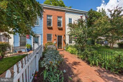 Capitol Hill Townhouse For Sale: 903 12th Street SE