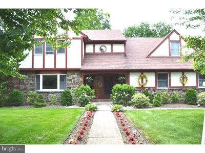 Jenkintown Single Family Home For Sale: 417 Vernon Road