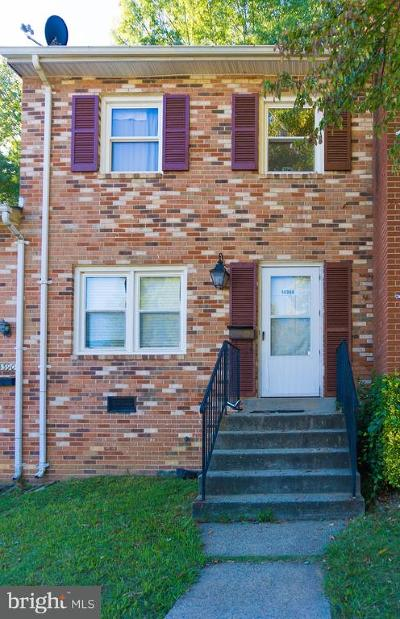 Dale City Townhouse For Sale: 14388 Fontaine Court