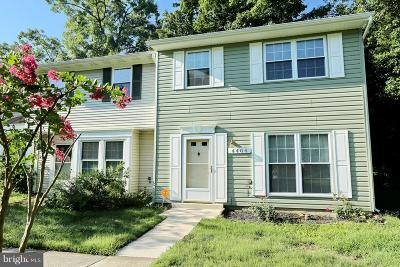 Waldorf Townhouse For Sale: 4404 Eagle Court