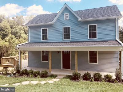 Frederick County Single Family Home For Sale: 222 5th Avenue
