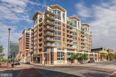 Baltimore City Condo For Sale: 1400 Lancaster Street #703
