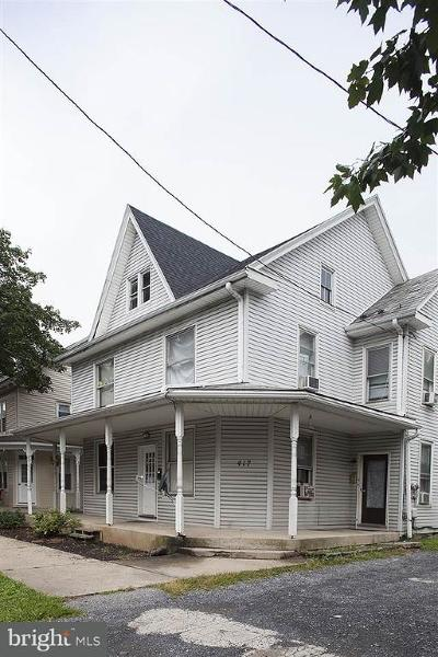 Palmyra Multi Family Home For Sale: 415-417 E Main Street